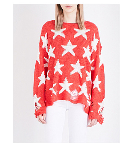WILDFOX Seeing Stars Lenon knitted sweater (Free+love
