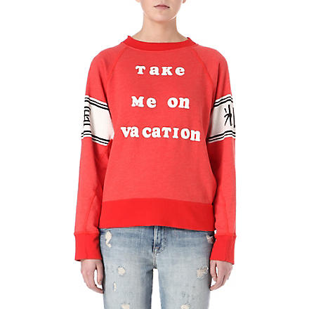 WILDFOX Vacation sweatshirt (Holiday