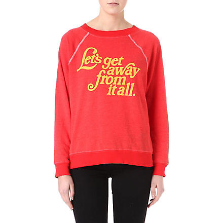 WILDFOX Let's Get Away sweatshirt (Holiday