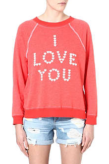 WILDFOX I Love You sweatshirt