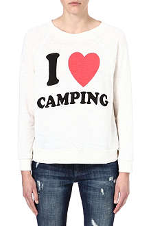 WILDFOX I love camping sweatshirt