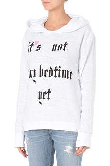 WILDFOX Not My Bedtime Yet hoody