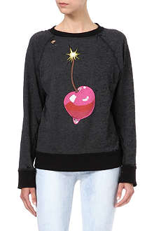 WILDFOX Cherry bomb sweatshirt