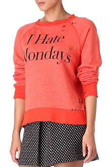 WILDFOX I Hate Mondays top