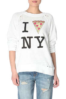 WILDFOX Pizza slice sweater