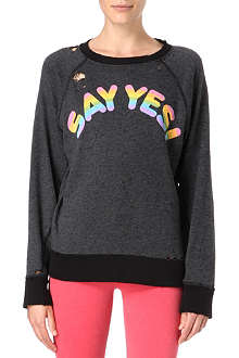 WILDFOX Say yes sweater
