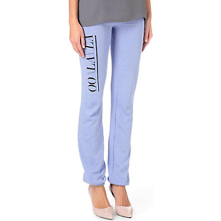 WILDFOX Oo La La jogging bottoms (Lightening