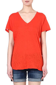 SUNDRY Relaxed-fit cotton t-shirt