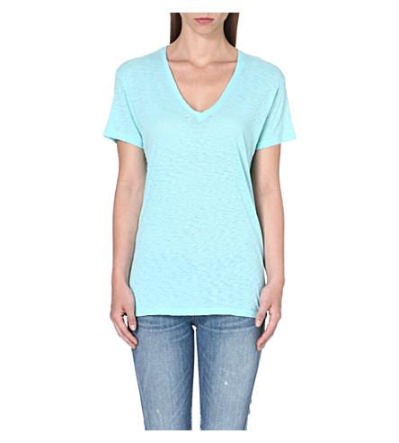 SUNDRY V-neck cotton-jersey t-shirt (Fiji