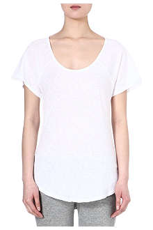 SUNDRY Round-neck cotton t-shirt