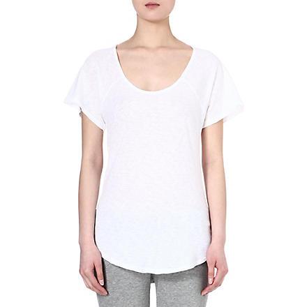 SUNDRY Round-neck cotton t-shirt (White
