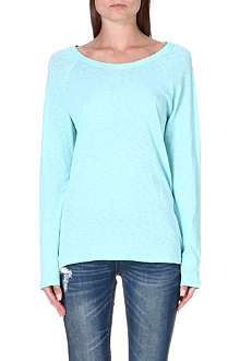SUNDRY Long-sleeved jersey top