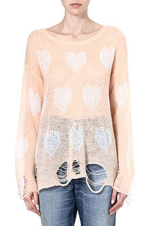 WILDFOX Lennon knitted jumper