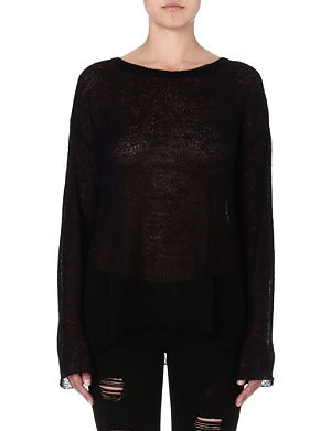 WILDFOX Guardian Angel knitted jumper