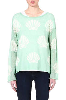WILDFOX Roadie Shell knitted jumper