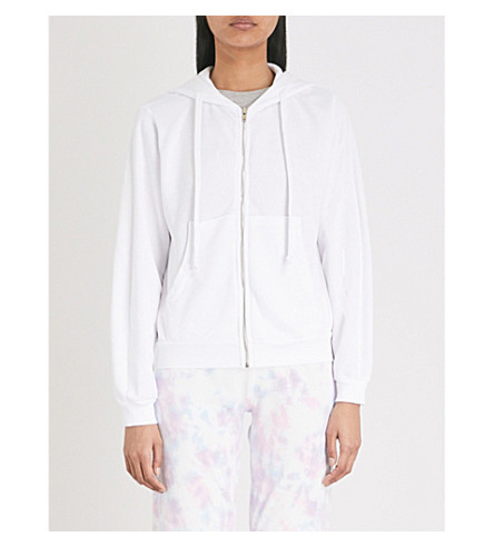 WILDFOX Bride jersey hoody (Clean+white