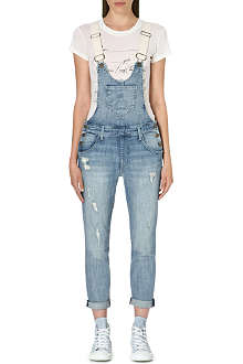 WILDFOX Ibize denim dungarees