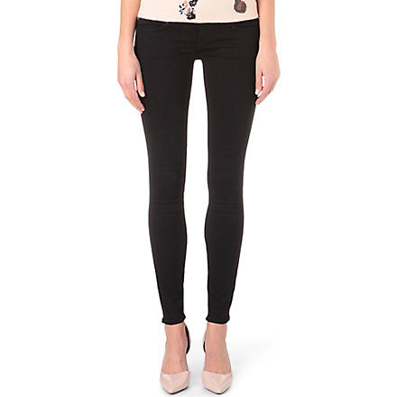 WILDFOX Carmen skinny low-rise jeans (Airkiss