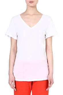 SUNDRY V-neck cotton t-shirt