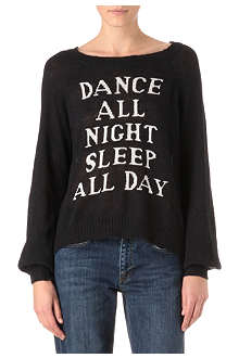 WILDFOX Dance all Night knitted jumper