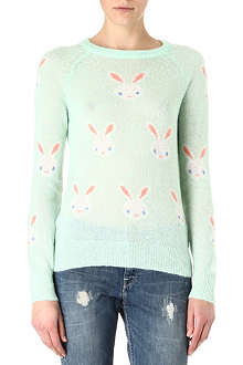 WILDFOX Snow bunny knitted jumper