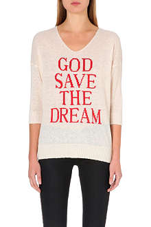 WILDFOX God Save the Dream jumper