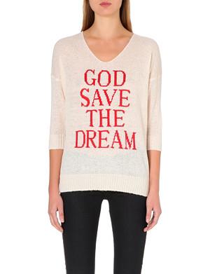 WILDFOX God Save the Dream jumper
