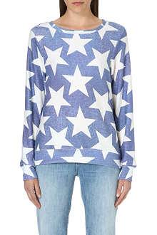 WILDFOX Ibize star-print sweatshirt