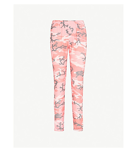 WILDFOX Camouflage fleece jogging bottoms (Multi