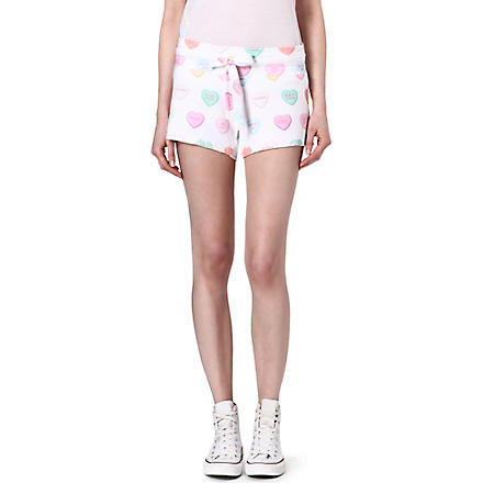 WILDFOX Sweetheart shorts (Multi-coloured