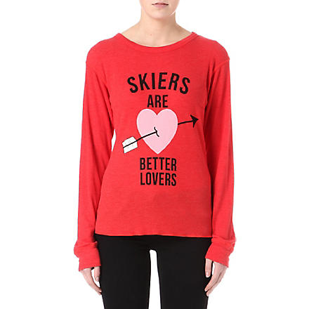 WILDFOX Skiers are better lovers top (Holiday
