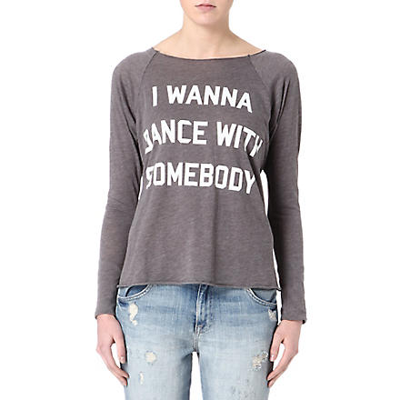 WILDFOX I want to dance with somebody top (Firestone