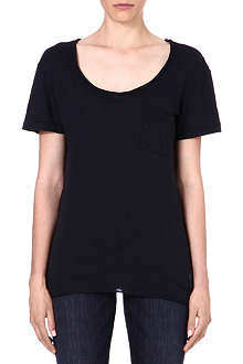WILDFOX Essential scoop neck t-shirt