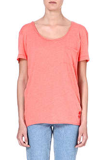 WILDFOX Oversized cotton-blend T-shirt