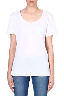 WILDFOX Essential cotton-blend t-shirt