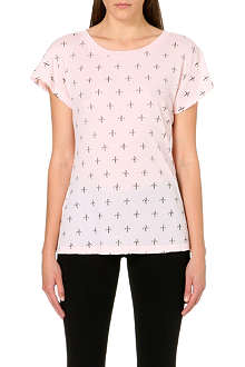 WILDFOX Buckingham cotton-jersey t-shirt