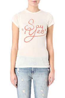 WILDFOX Say Yes t-shirt