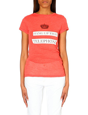 WILDFOX Phone Booth t-shirt