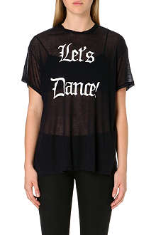WILDFOX Let's Dance jersey t-shirt