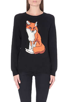 WILDFOX Fox knitted jumper