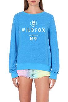 WILDFOX Ibize No. 9 jersey sweatshirt