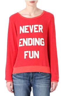 WILDFOX Never Ending Fun sweatshirt