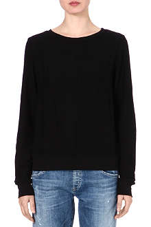 WILDFOX Relaxed-fit sweatshirt