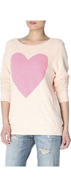 WILDFOX Heart jumper