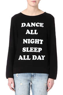 WILDFOX Dance All Night sweatshirt