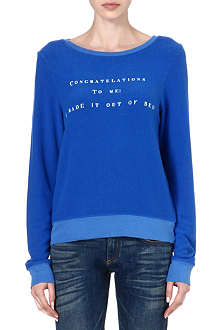 WILDFOX Congratulations To Me sweatshirt