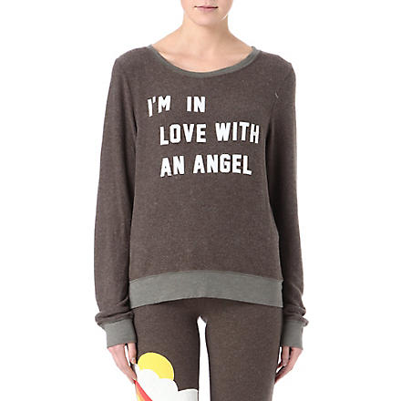 WILDFOX In Love With An Angel sweatshirt (Firestone