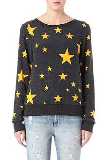 WILDFOX Disco star sweatshirt