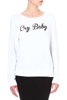 WILDFOX Cry Baby jumper