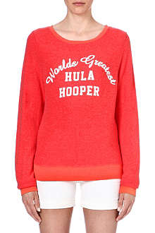WILDFOX Hula hooper sweat top
